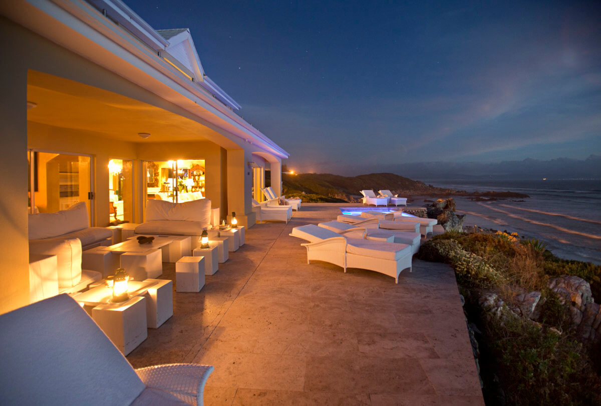 Birkenhead house luxury hermanus hotel the royal portfolio for Terrace night