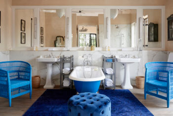 bathroom, luxury, interior, design, safari