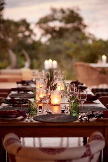 luxury, dining, kruger, safari