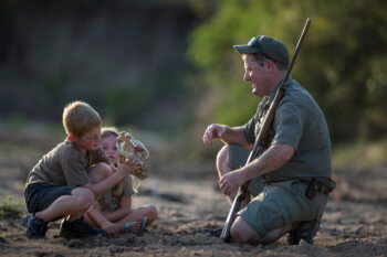family-children-safari-ranger