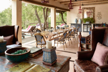 luxury, safari, kruger, dining